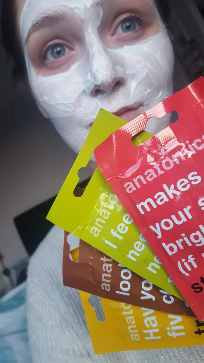 4 days, 4 face masks with Anatomicals