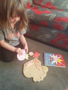 Peppa Pig Princess Fairy Puzzle