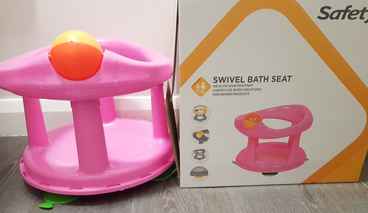 Safety 1st Swivel Bath Seat Review
