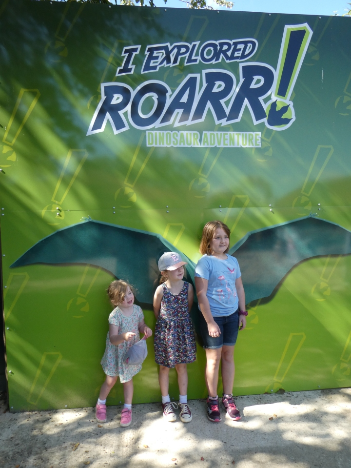 Our First Family Day Out In 6 Months – Roarr! Dinosaur Adventure!