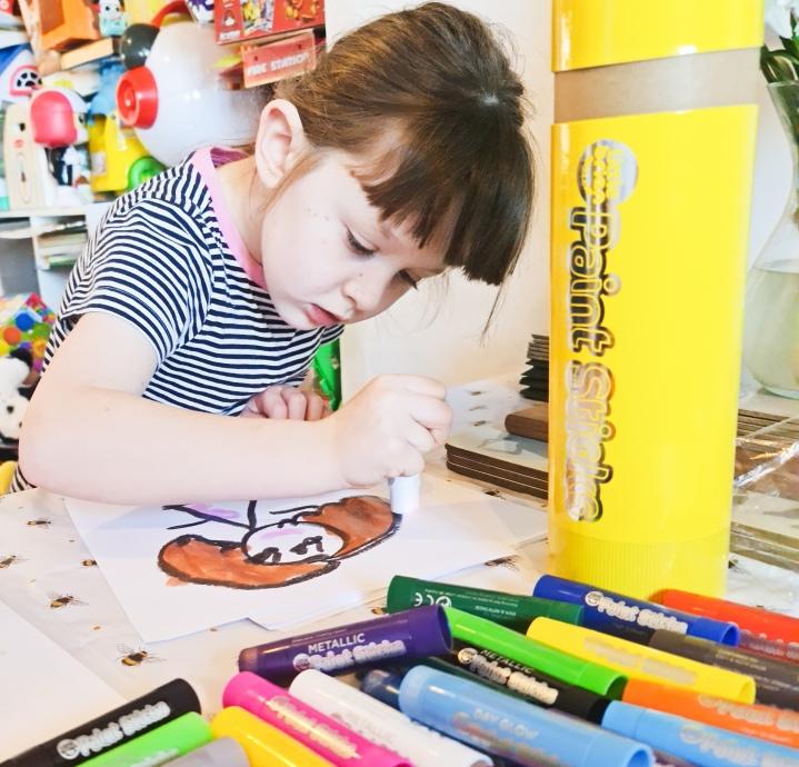 Little Brian Paint Sticks – At HomeCrafts!