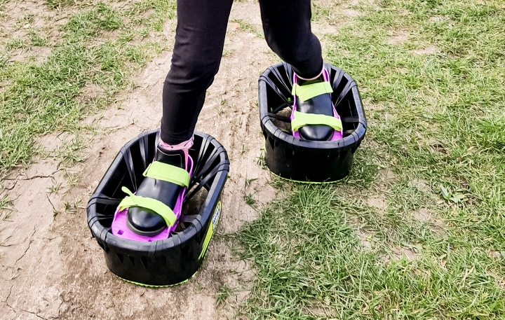 Bouncing Back In Time With MoonShoes!