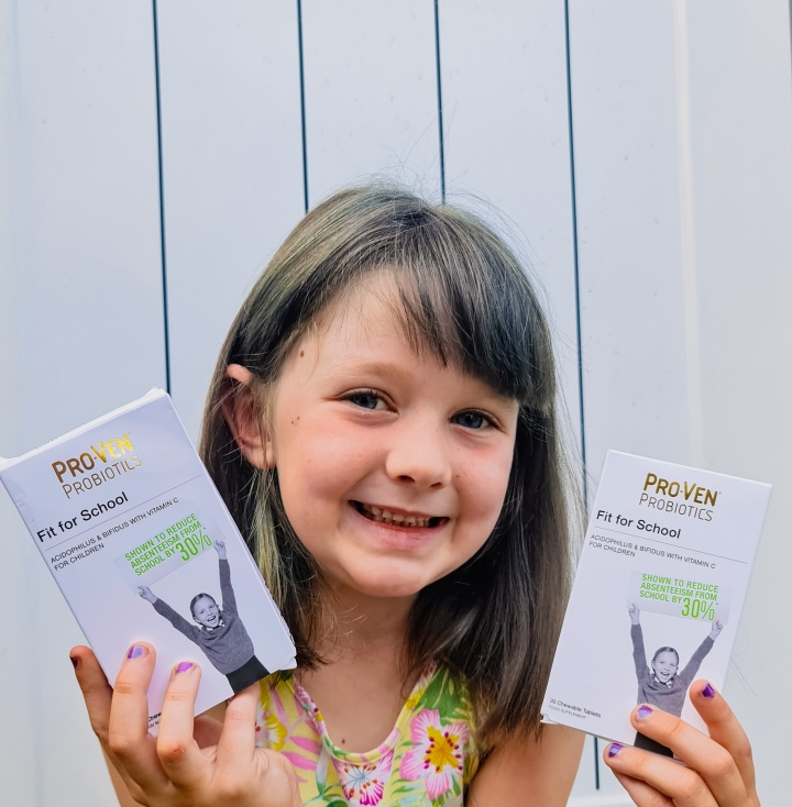Back To School  With ProVen Probiotics ForChildren